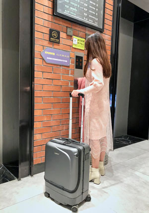 Airwhee1 SR5 smart luggage